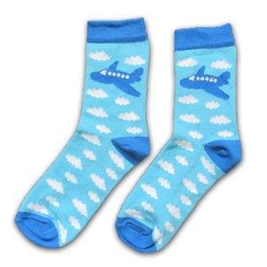 Holland sokken Children's Socks Airplane - Blue White