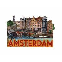 Typisch Hollands Magnet Amsterdam Papen Insel