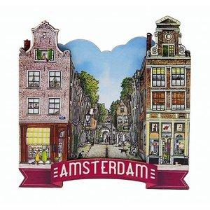 Typisch Hollands Magneet  steeg in  Amsterdam