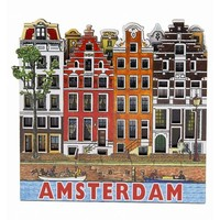 Typisch Hollands Magnet 4 beherbergt Amsterdam