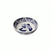 Typisch Hollands Delfter blauer Teller -Kleine Bisse-Tapas-8,5 cm