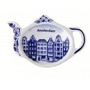 Typisch Hollands Teebeutelhalter - Delfter Blau (Amsterdam)