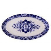 Typisch Hollands Blaue Geschenke Delfts - Blaue Schüssel Delft mit Blumendekoration