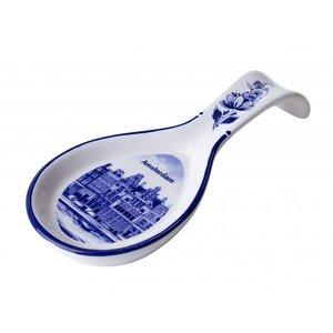 Heinen Delftware Spoonrest Delfts blauw - Amsterdam