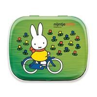 Nijntje (c) Miffy souvenir - Mini Mint can - Miffy on bicycle