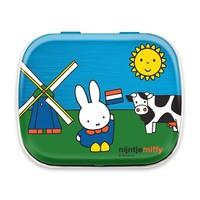 Nijntje (c) Miffy Souvenir - Mini Mint Dose - Miffy auf einem Bauernhof