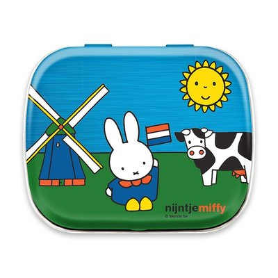 Nijntje (c) Miffy Andenken - Minzdose - Miffy auf einem Bauernhof