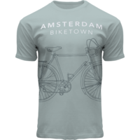 FOX Originals T-Shirt Amsterdam - Sea green - Bike Town