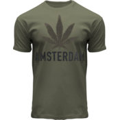 FOX Originals T-Shirt - Armee grün - Terry - Amsterdam