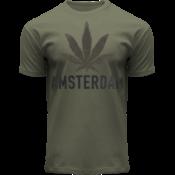 FOX Originals T-Shirt- Army green - Terry - Amsterdam