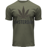 FOX Originals T-Shirt - Army green - Terry - Amsterdam