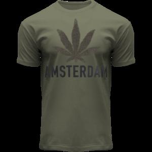 FOX Originals T-Shirt - Army green - Terry - Amsterdam