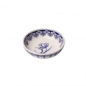 Tapas dish - Delft blue - Tulip - small