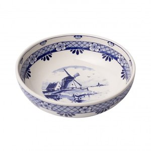 Typisch Hollands Tapas dish - Delft blue - Mill - large