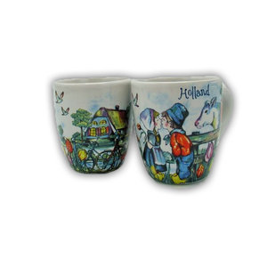 Typisch Hollands Espresso mugs - Giftbox 2 cups Holland