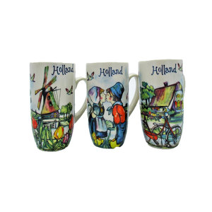 Typisch Hollands Gift set of 3 coffee cups - Holland