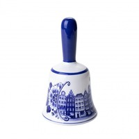 Bell bell large canal houses - Delft blue