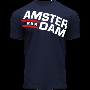 Holland fashion T-Shirt Amsterdam (Navy jeans)