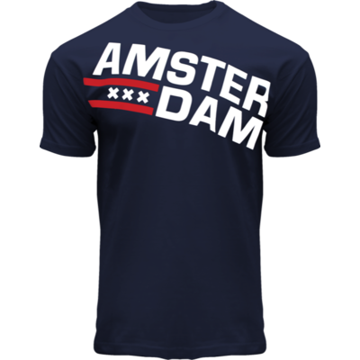 FOX Originals T-Shirt Amsterdam (Marinejeans)