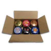 Typisch Hollands Advantage package stroopwafels in tin 6 assorted