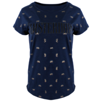 FOX Originals Damen T-Shirt - Amsterdam - Chic - Navy & Gold Bikes