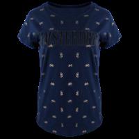 FOX Originals Ladies T-Shirt - Amsterdam - Chic - Navy & Gold bikes
