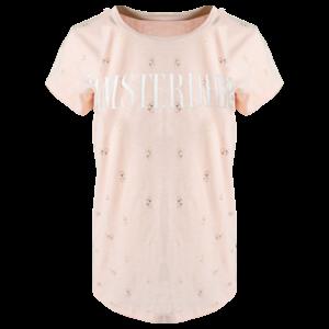 Holland fashion Ladies T-Shirt - Amsterdam - Chic - Pink & Gold bikes