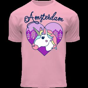 Holland fashion Kinder T-Shirt - Unicorn Amsterdam