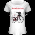 FOX Originals T-Shirt Amsterdam - Boat Neck Bike