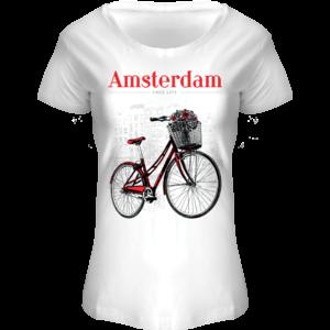 FOX Originals T-Shirt Amsterdam - Boothals Bike