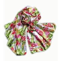 Typisch Hollands Dames-sjaal Holland- Satijn - Sjaal -  multicolor
