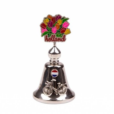 Typisch Hollands Handbell color tulips Holland shiny silver.