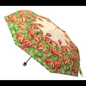 Typisch Hollands Regenschirm Holland Tulpen Rot-Weiß