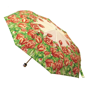 Typisch Hollands Umbrella Holland tulips Red-White