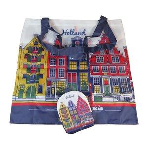Typisch Hollands Tasche faltbare farbige Fassaden