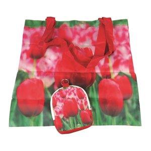 Typisch Hollands Nylon Bag - Foldable - Tulips