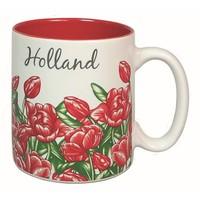 Typisch Hollands Straight mug Red - Holland