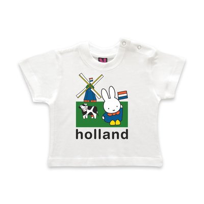 Nijntje (c) T-Shirt Nijntje - weiland Holland.