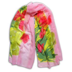 Typisch Hollands Scarf - Voile Tulips
