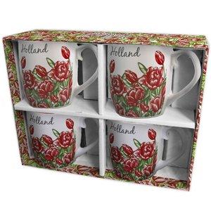 Typisch Hollands Gift box Senseo mugs (4x)