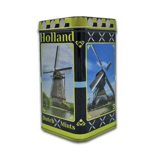 Typisch Hollands Mill-tin Peppermint - Holland-Mills