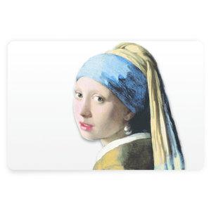 Typisch Hollands Tischset Vermeer Mädchen mit der Perle