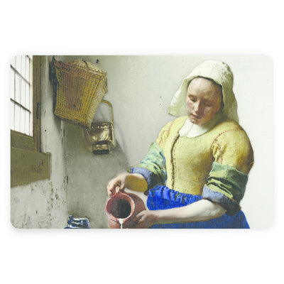 Typisch Hollands Placemat Vermeer The Milkmaid