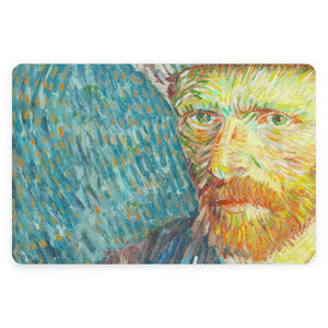 Typisch Hollands Placemat Van Gogh Self-portrait close-up
