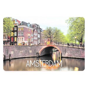 Typisch Hollands Amsterdam placemat