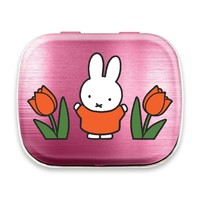 Nijntje (c) Mint tin miffy tulips pink