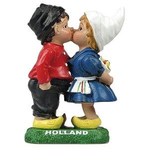 Typisch Hollands Kuss-Paar - Farbe 11 cm
