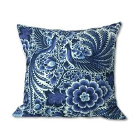 Typisch Hollands Cushion cover - Classic Peacock - Delft blue