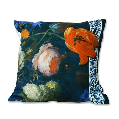 Typisch Hollands Cushion cover -Gold century - flowers