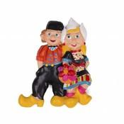 Typisch Hollands Magnet Dutch farmer couple